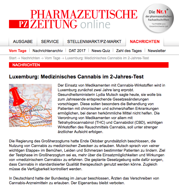 Luxenburg Cannabis